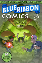 Blue Ribbon Comics No.2 by DBed