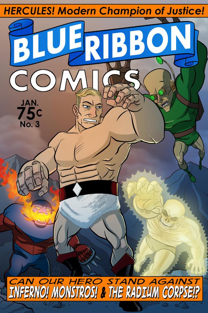 Blue Ribbon Comics No. 3 by DBed