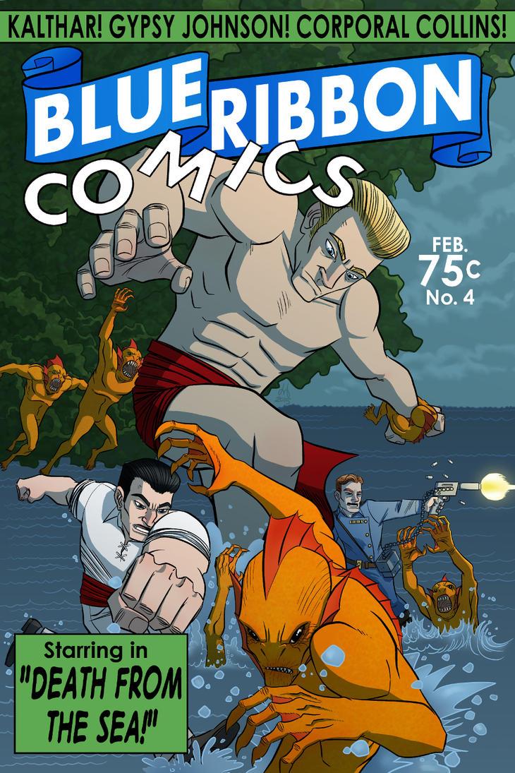 Blue Ribbon Comics No.4 by DBed