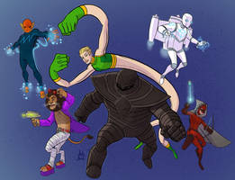 COMMISSION - The Superior Six by DBed