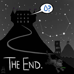 Inktober 2018 - 32. The End by DBed