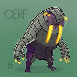Oerf, Walrus Warrior by DBed