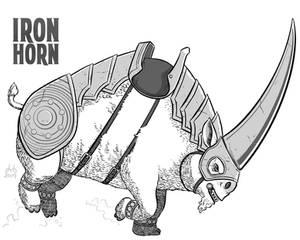 27 Coat - Iron Horn