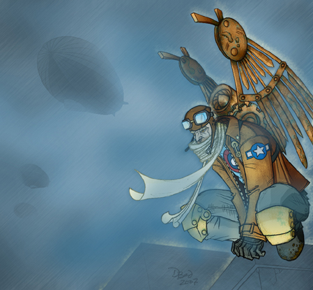 Mechanical Angel by DBed