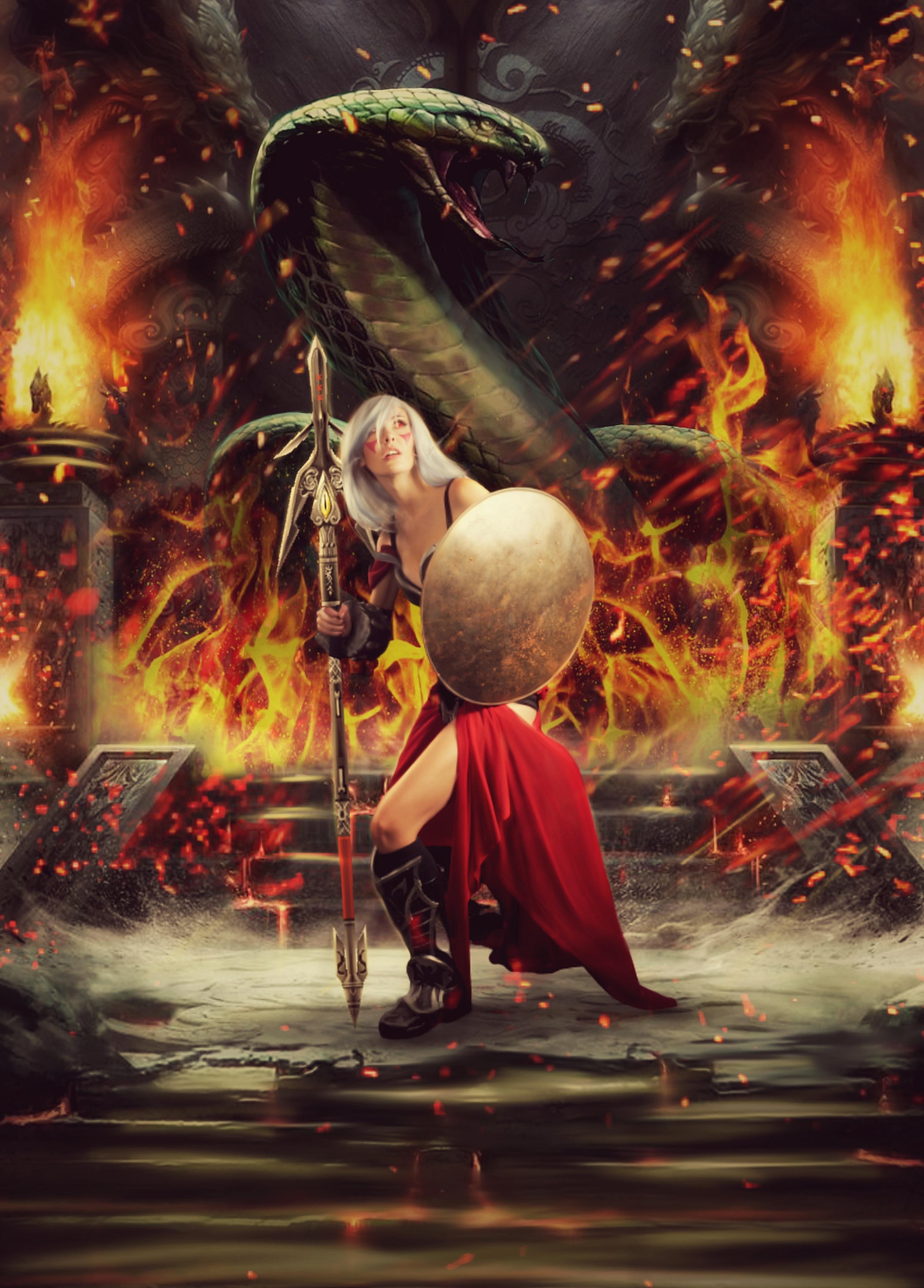 wanita api