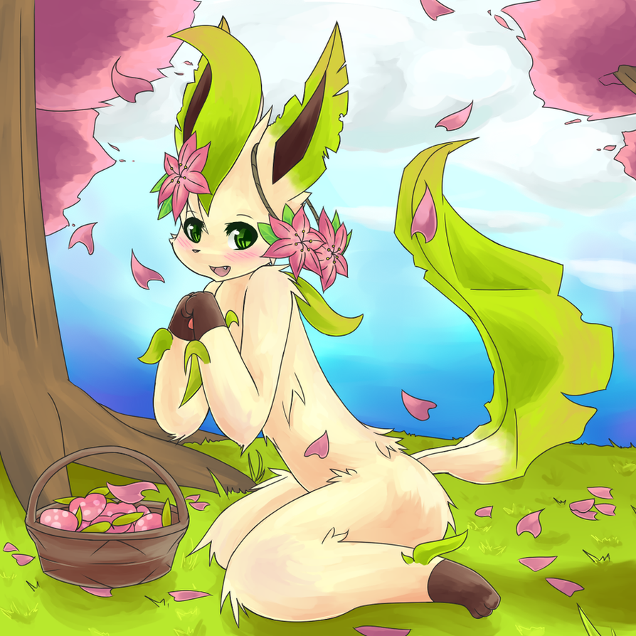 Leafeon Nel by Ikari-Sora