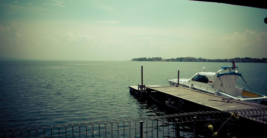 Hotel pier at Balige by mayhem-on-us on DeviantArt