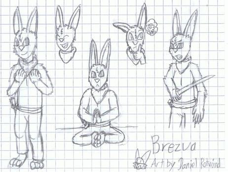 Brezua the Samurai Hare