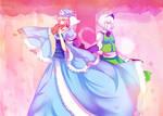 Yuyuko and Youmu