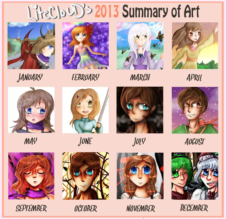 2013 Summary of Art by LiteCloUD