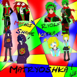 Matryoshka - 4 in 1