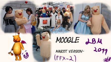 Moogle mascot cosplay
