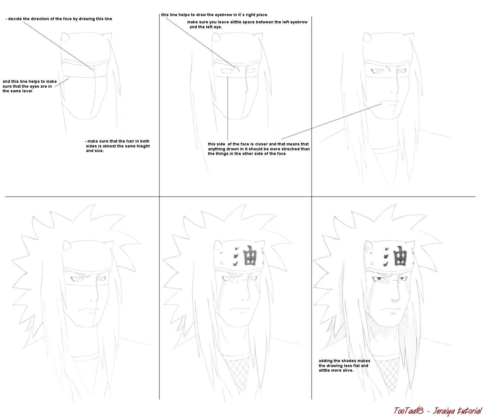 Como Dibujar A Los Personajes De Naruto