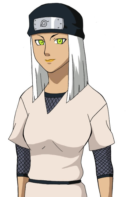 female ninja colored by tootaa18