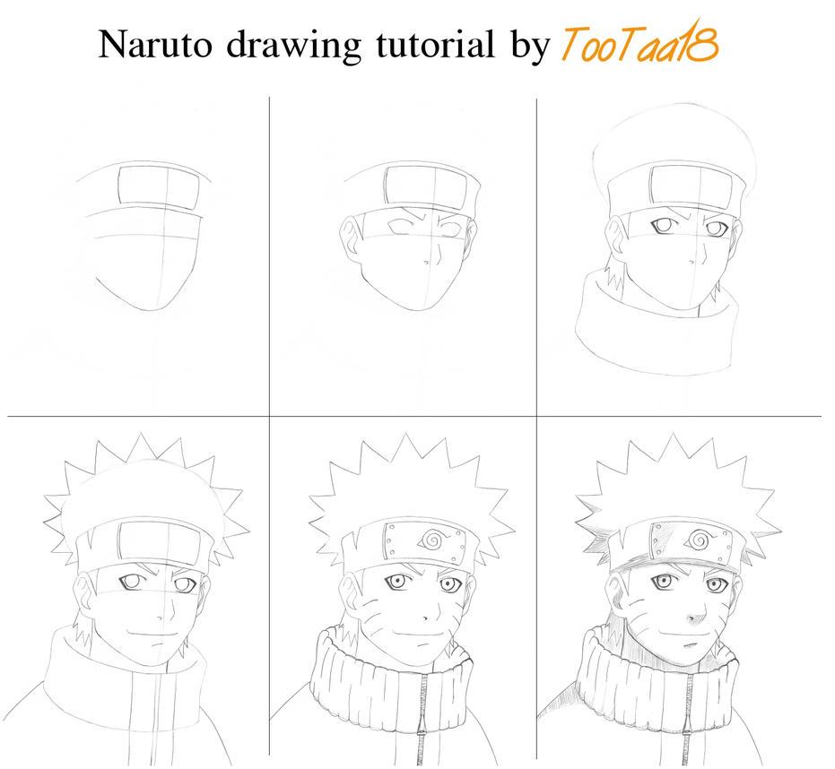 Aprender A Dibujar Los Personajes De Naruto