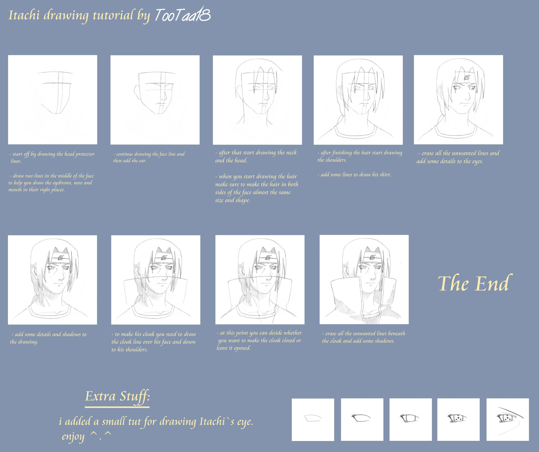 Aprender a dibujar los personajes de naruto mundo naruto - Comment dessiner un ninja ...