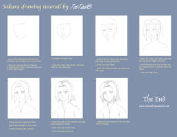 Sakura drawing tutorial