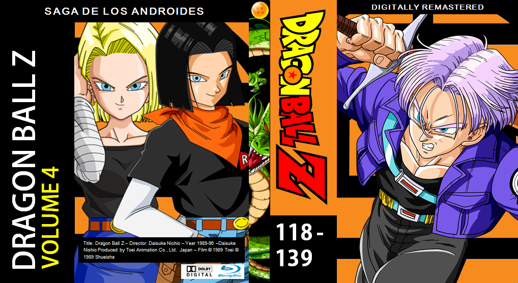 Dragon Ball Z Blu Ray Cover Volume 4 By PhysicsAndMore On