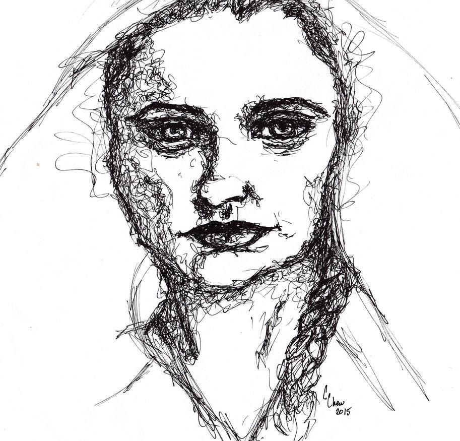 Sansa ScribblePic by SilentObzerver
