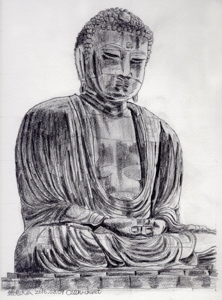 Great statue of Buddha of Kamakura02 by osam-devet