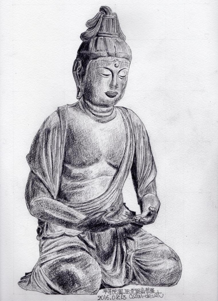 Avalokitesvara in Kyoto Phenix Hall by osam-devet