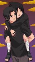 Sasuke and Itachi 2