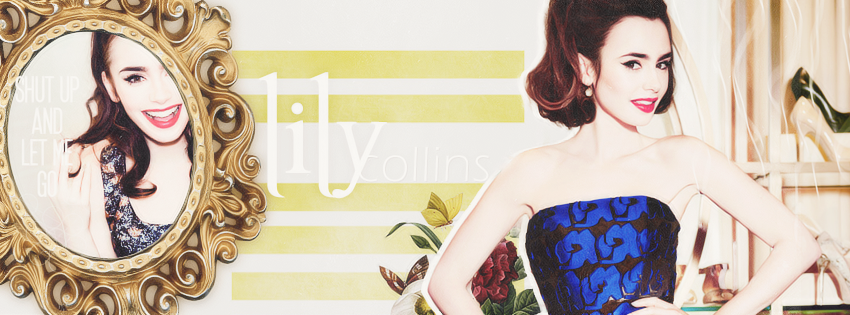 Lily collins facebook ...