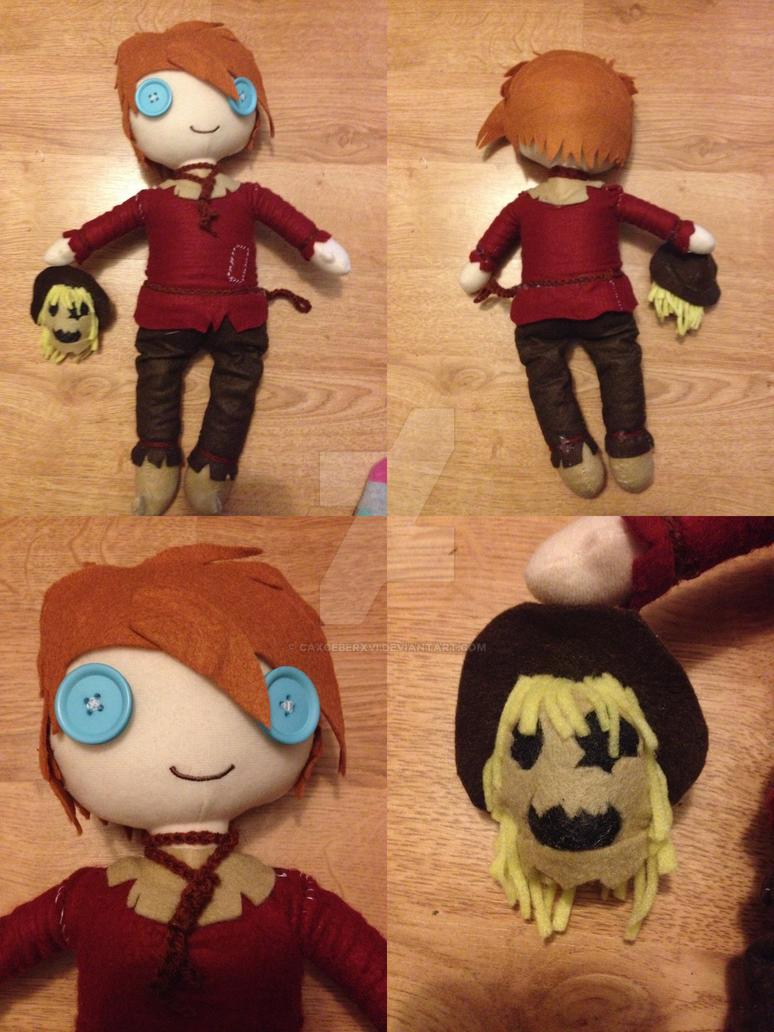 BTAS Scarecrow Plushie by CaxceberXVI