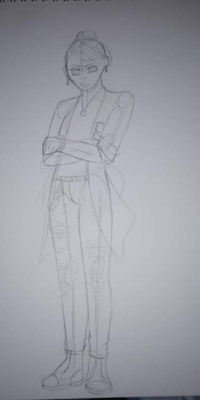 AU teen!Wesker wip by CaxceberXVI