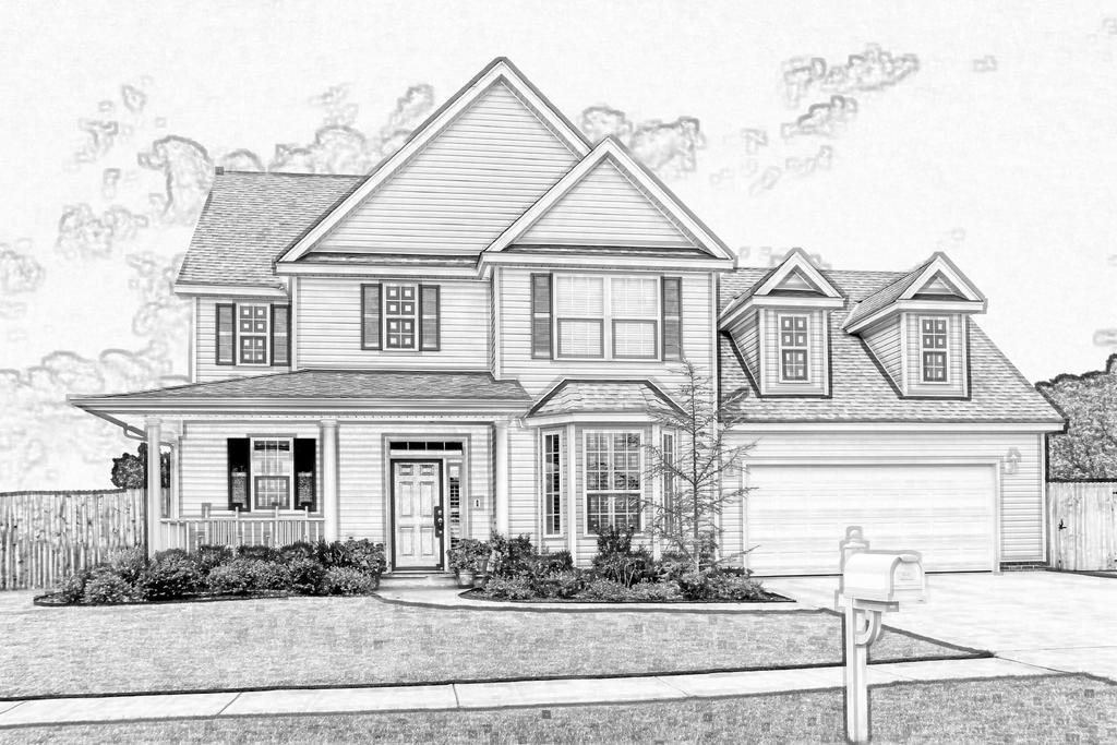 House sketch by eaglespare on deviantart for Exterior house drawing
