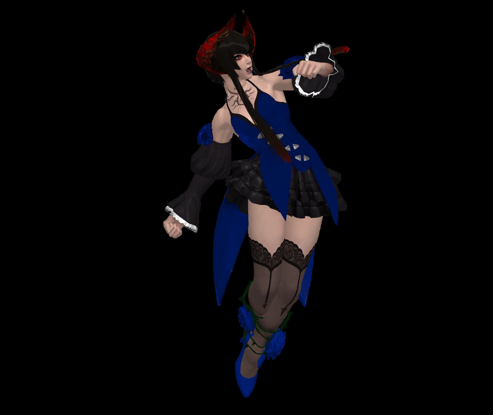Tekken Revolution - Eliza by eaglespare on DeviantArt