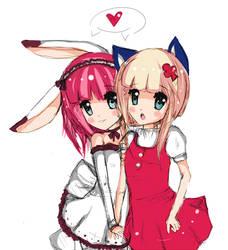 friendship by Azaleee