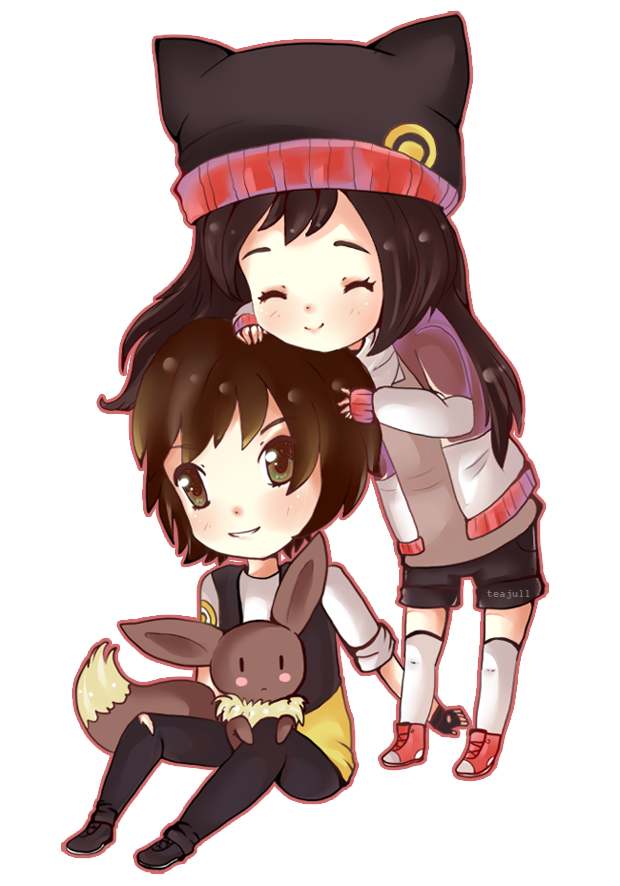 .:Chibi couple:. by Azaleee