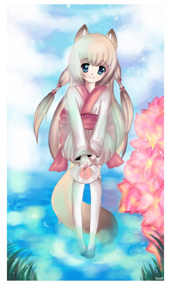 ::Kitsune by Azaleee