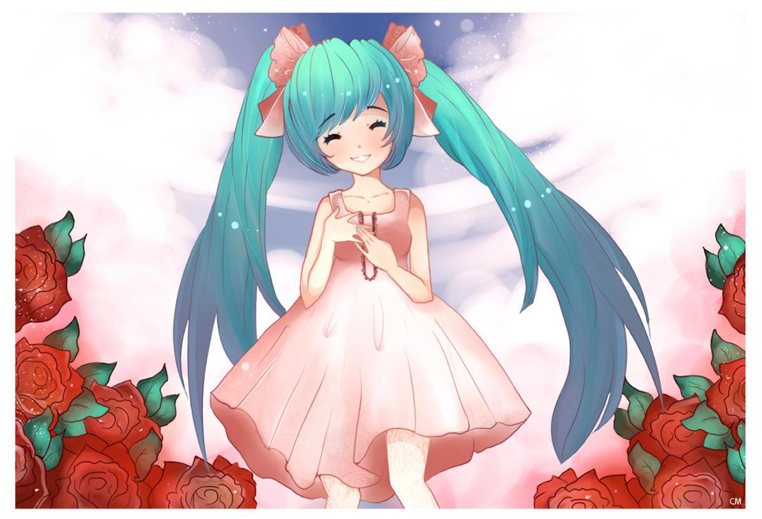 ::Hatsune Miku by Azaleee