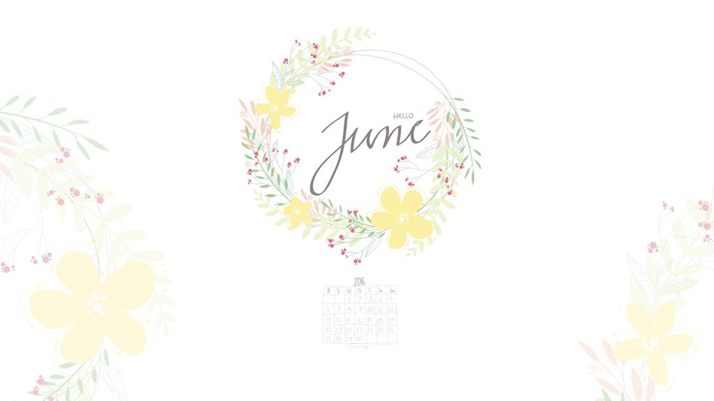 Hello June Wallpaper By Greenmaggot