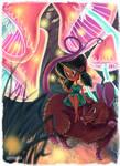 digital illustration   mashroom land