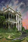 The Haunted Mansion Sunrise