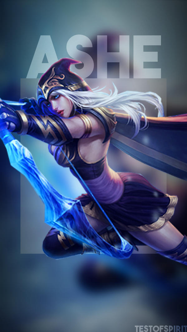 Ashe IPhone Wallpaper LoL By TestOfSpirit On DeviantArt