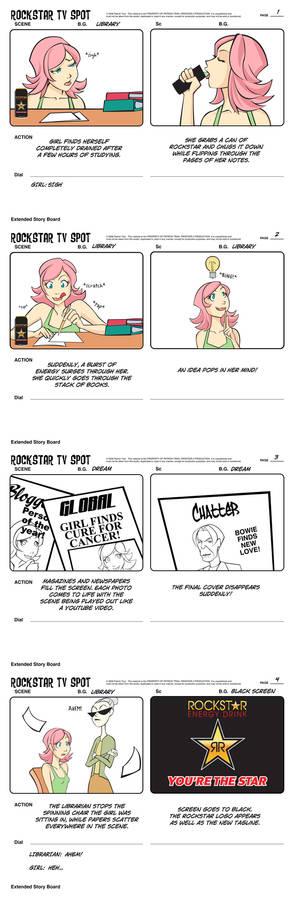 Random Storyboard TV Spot