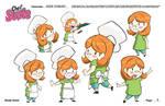 Suzie Model Sheet Page Two by PolishTamales