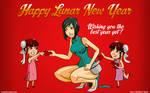 Happy Lunar New Year 2011 by PolishTamales