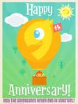 9th Anniversary Chocobo Winner by PolishTamales