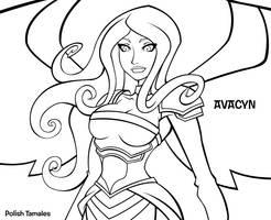 Avacyn Comic Preview by PolishTamales