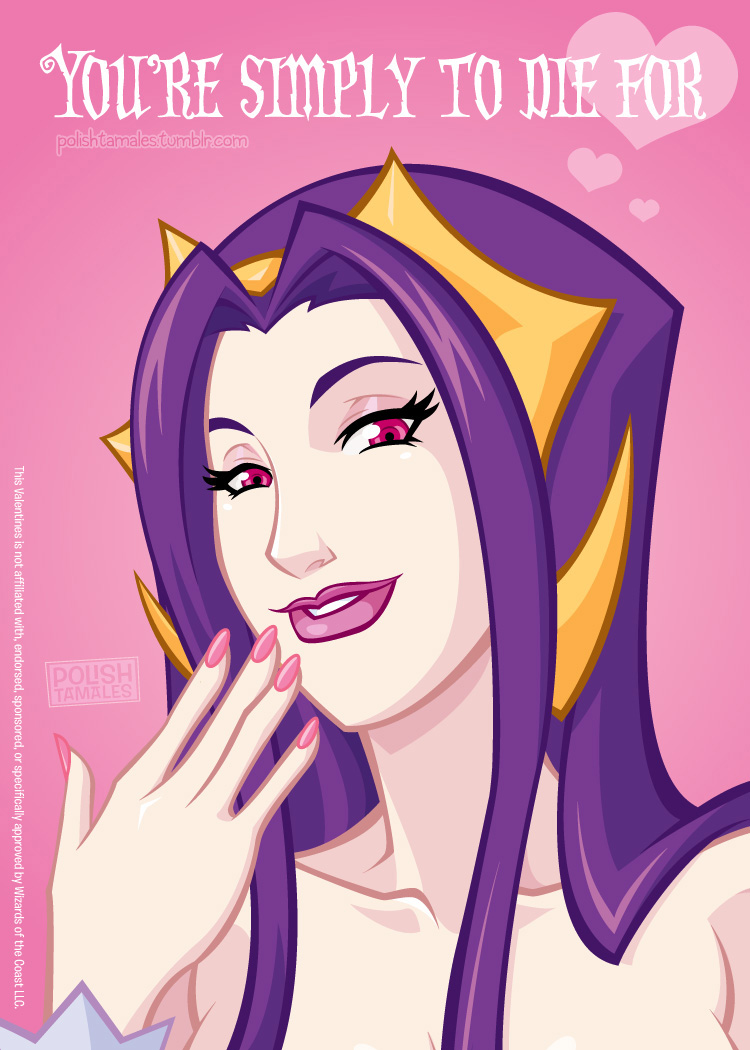 MTG Valentine's Day - Liliana by PolishTamales