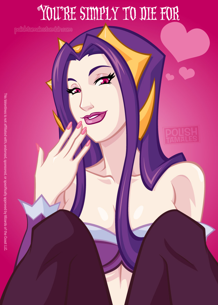 MTG Valentine's Day - Liliana Fan Service Edition by PolishTamales
