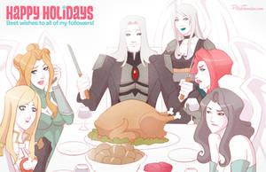 MTG   Happy Holidays - From Innistrad! by PolishTamales