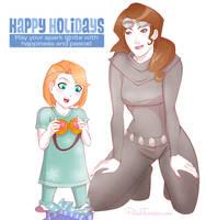 MTG   Happy Holidays by PolishTamales