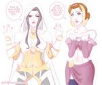 MTG | Liliana and Elspeth Wardrobe Malfunction