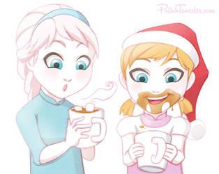 Disney   Frozen   Chocolate Coco by PolishTamales